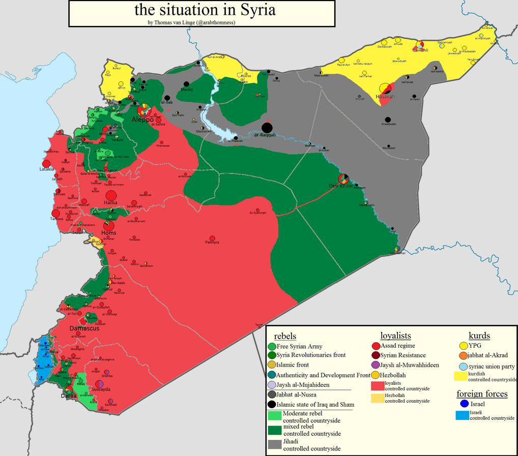 Syria War Map