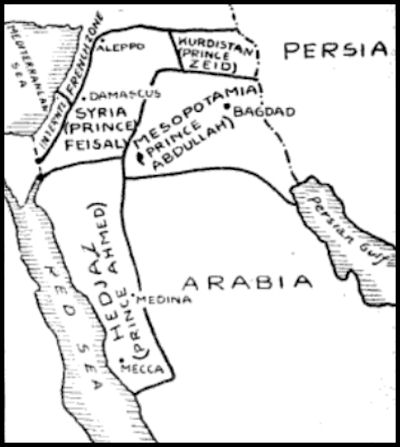 Sykes Picot Agreement 1916