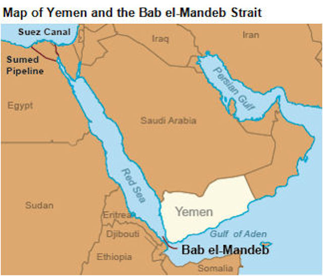 Image result for Horn of Africa, Bab Al-Mandab, map