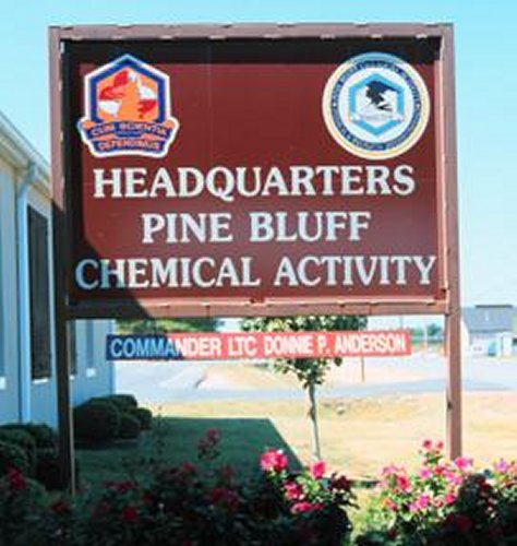 The Pine Bluff Chemical Activity Storage Area Is Protected By Many Security  Measures. The Activity Stores 12% Of The Nationu0027s Original Chemical  Stockpile.