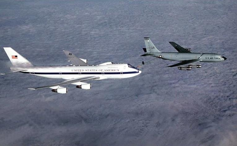 Us Air Force S E4 B Boeing 747s At A Zurich Airport Photo You