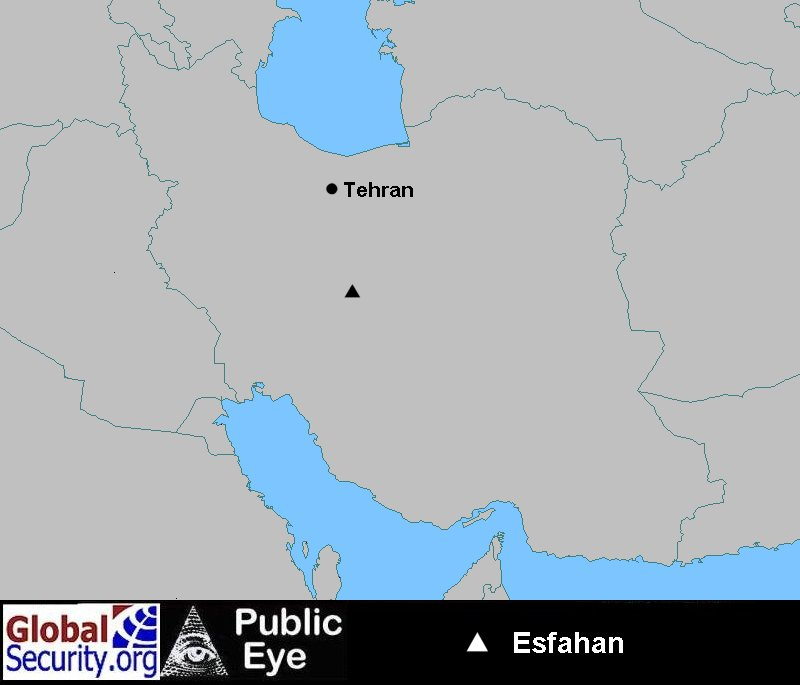 Satellite Imagery EsfahanIsfahan